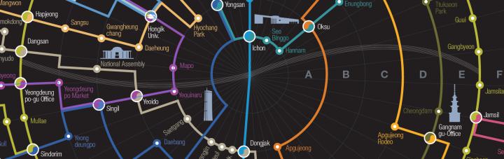 資訊視覺|首爾地鐵圖的思考
