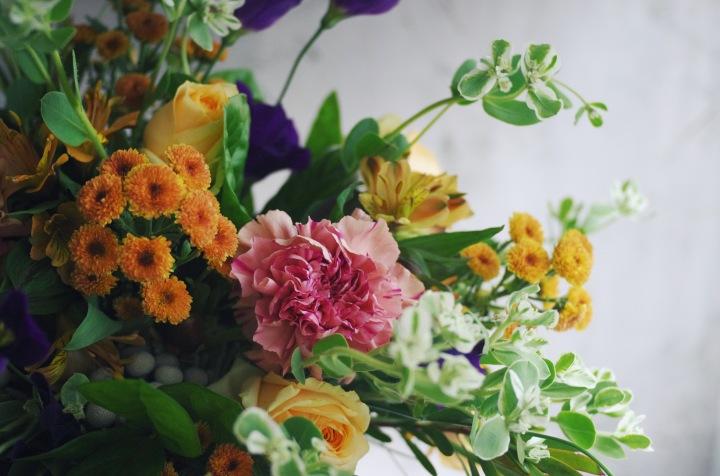 花藝誌|德國花藝學習筆記 – 手綁花束