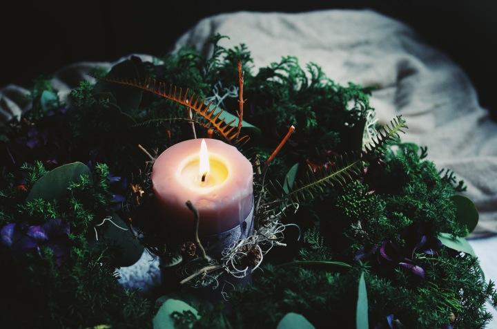 花藝誌|德國花藝學習筆記03 – 綁聖誕花圈